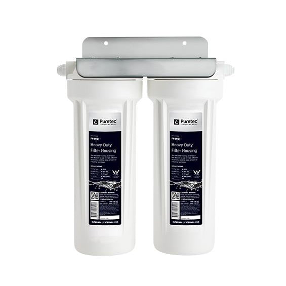Puretec CD13 Series | Twin Undersink Housing Filter System