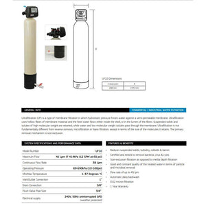 Puretec UF10 Ultra Filtration System