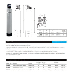 Puretec CFS Carbon Filtration Water Treatment Systems