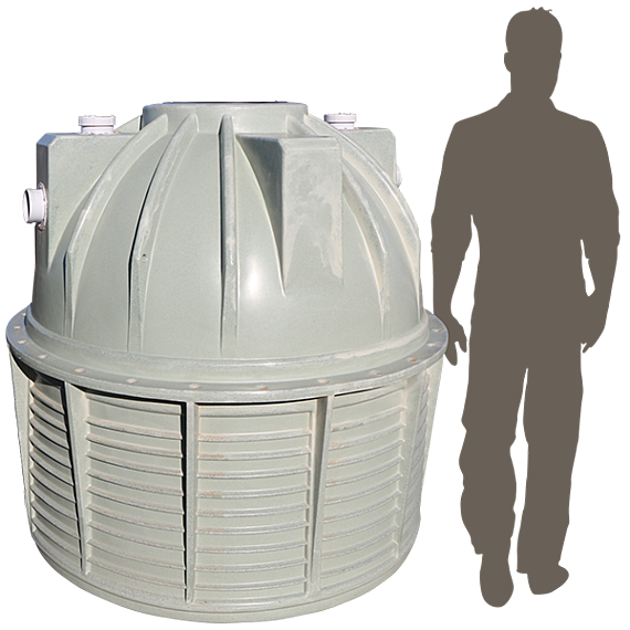 2200ltr Poly Septic Tank