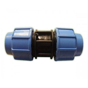 Alprene Metric Poly Fittings - Coupling Joiners-Poly Pipe & Fittings-Land and Water Technology