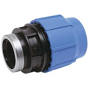 Alprene Metric Poly Fittings - Female End Connectors Adaptor-Poly Pipe & Fittings-Land and Water Technology