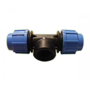 Alprene Metric Poly Fittings - Female Threaded Tees-Poly Pipe & Fittings-Land and Water Technology