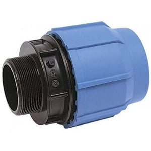 Alprene Metric Poly Fittings - Male End Connectors-Poly Pipe & Fittings-Land and Water Technology