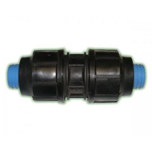 Alprene Rural Poly Fitting - Coupling Joiner-Poly Pipe & Fittings-Land and Water Technology