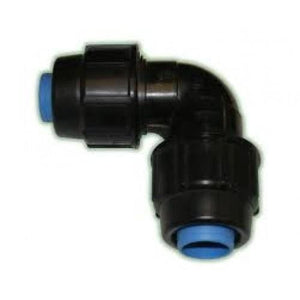 Alprene Rural Poly Fitting - Elbow Joiner-Poly Pipe & Fittings-Land and Water Technology