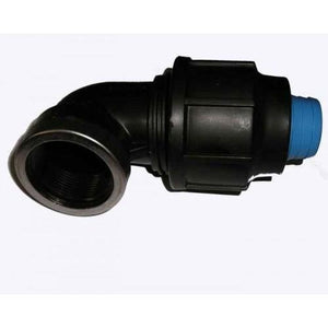 Alprene Rural Poly Fitting - Female Threaded Elbows-Poly Pipe & Fittings-Land and Water Technology