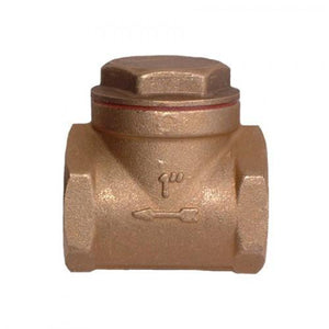 Brass Swing Check Valve-Valves & Valve Boxes-Land and Water Technology