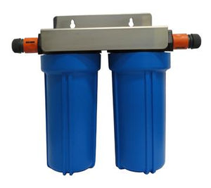 Portable Caravan/RV Twin Water Filter System