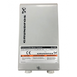 "Grundfos 4"" SP 3A ‐ Single Phase 240v Submersible Bore Pump"