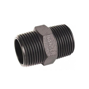 Hansen Threaded Nipples - Male-Poly Pipe & Fittings-Land and Water Technology
