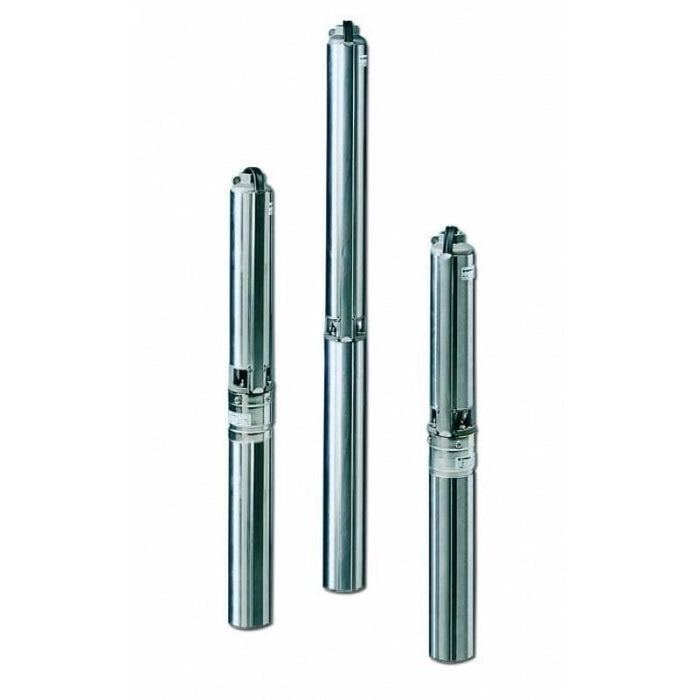 "Lowara GS Series - Submersible Bore Pumps 4"" (100mm) Single Phase - Three Wire with Control Box"