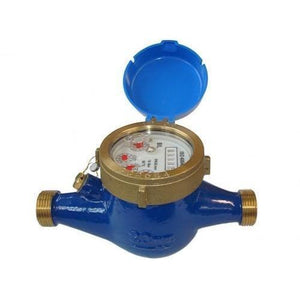 Netafim Multi Jet Water Meters (10-100L Pulse)-Water Meters-Land and Water Technology