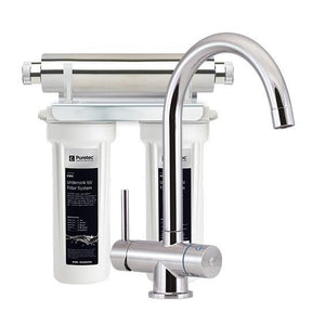 Puretec ESR2-Tripla Series | Undersink UV Water Filter System-Water Purification-Land and Water Technology