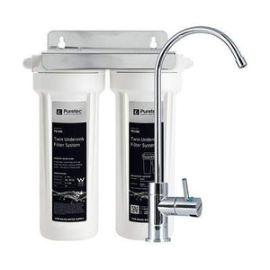 Puretec TS100 Series | Twin Undersink Water Filter System-Water Purification-Land and Water Technology