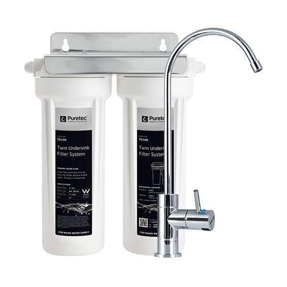 Puretec TS100 Series | Twin Undersink Water Filter System