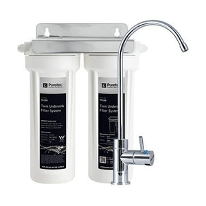 Puretec TS200 Series | Twin Undersink Water Filter System-Water Purification-Land and Water Technology