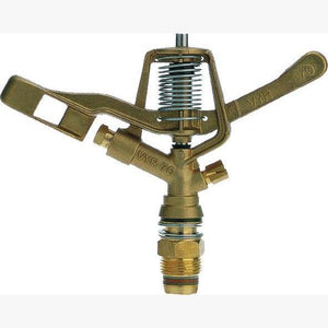 VYRSA 70 Brass Full Circle 20mm Male Double Nozzle 26deg X 22deg Trajectory-Irrigation Supplies-Land and Water Technology