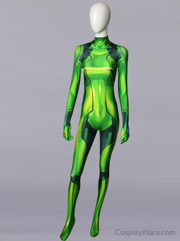 Green Samus Zero-Cosplay Wars