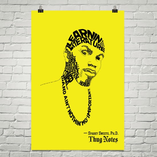Thug Notes – Sparky Sweets Quote Poster – 24