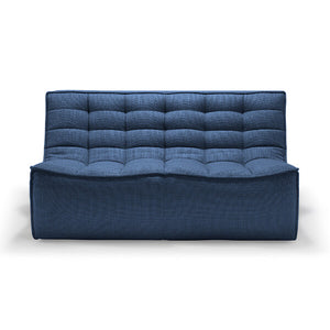N701 sofa - 2 Seater - Blue - IN STOCK