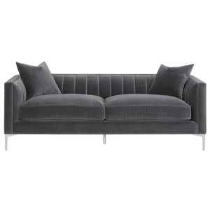 "Boho 84"" Channel Sofa"