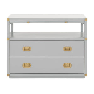 Bradley 2-Drawer Nightstand
