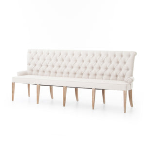Banquette Bench Light Sand