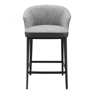 Beckett Counter Stool Grey