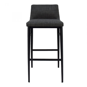 Baron Bar Stool Charcoal