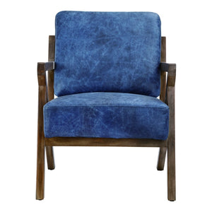 Drexel Arm Chair Blue