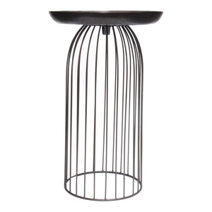 Aviary Accent Table Large Dark Bronze