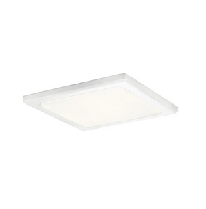 "Zeo 3000K LED 13"" Square Flush Mount White - IN STOCK"