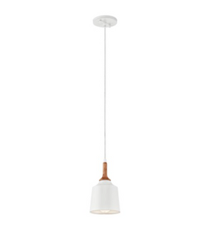 Danika 1 Light Mini Pendant White - IN STOCK