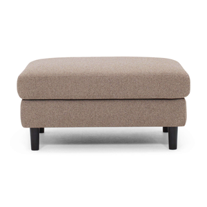 Oskar Rectangular Ottoman - Fabric