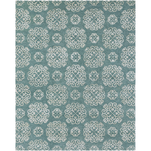 "Waldorf 1010 - 75% Viscose, 25% Wool - Hand Tufted - 0.47"" Pile Height - Made in India - 8' x 10'"