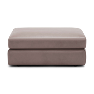 Cello Rectangular Ottoman - Leather