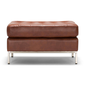 Reverie Ottoman - Leather