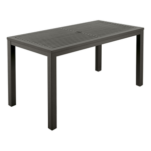 Aura Aluminium Narrow Dining Table