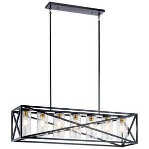 Moorgate 7 Light Linear Chandelier