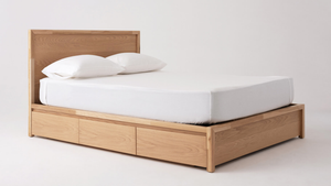 Marcel Drawer Storage Bed Oak