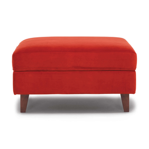 Salema Modular Storage Ottoman - Fabric