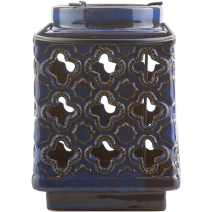 "Luau 490 - Ceramic - Outdoor Safe - 5.1"" x 5.1"" x 7.5"""