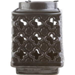 "Luau 492 - Ceramic Outdoor Safe - 5.1"" x 5.1"" x 7.5"""