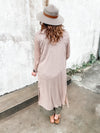 Maeve Ribbed Duster