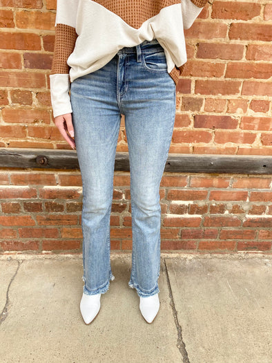 Lucy High Rise Vintage Flares