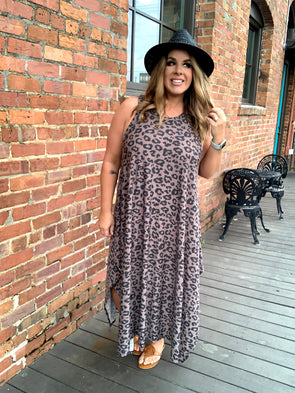 Julia Leopard Dress