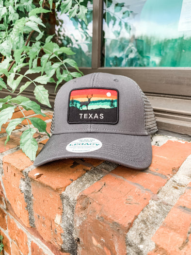 Texas Horizon Hat- Dark Grey