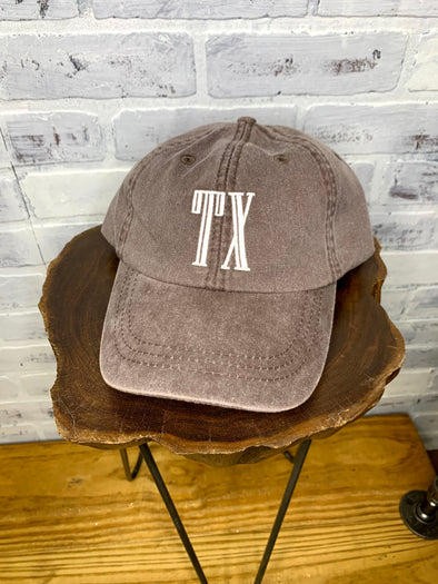 Engraved TX Hat- Mulberry