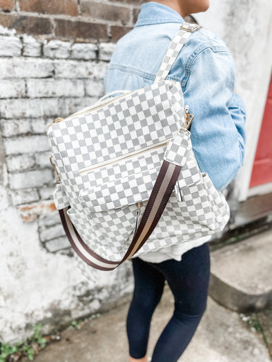 New Lacey Backpack- Cream